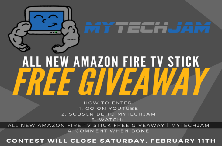 amazon tv giveaway all new amazon fire tv stick free giveaway mytechjam 6435