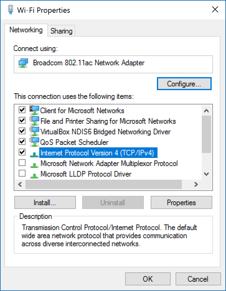 how to change static ip
